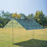 Tents And Shelters Strand Zon Onderdak Tent Waterdicht Regen Vliegen Uv Camping Voor Luifel Zonnescherm Tarp Outdoor L C4b6