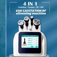 2022 80K ultrasonic cavitation machine body slimming rf facial lift vacuum BIO wrinkle removal beauty equippment