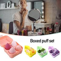 Sponges, Applicators & Cotton 4pcs Makeup Sponge Set Soft Beauty Foundation Make Teardrop Up Shape Blender Puff Tools Egg S2l8