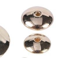 20-500pcs / lote 4-18mm oro ródium plano ccb espaciador de plástico de plástico accesorios de bricolaje encantos sueltos perlas para joyería que fabrican suministros 1374 q2