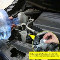 Esponja de automóviles 12 * Coche Lavadora de vidrio Limpiador de vidrios Compacto Efervescente Tabletas Detergente Limpieza de la ventana