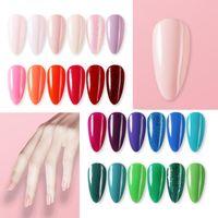 Nail Gel Luxlaco 1pcs Polish Set Manicure For Nails Semi Permanent Vernis Top Coat UV LED Varnish Soak Off Art Poli