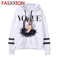 Women's Hoodies & Sweatshirts Vogue Sweatshirt Women Fashion Long Sleeve Casual Hood Oversized Female Clothes Streetwear Hip Hop 90s Aesthet
