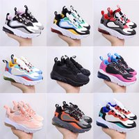 Kids Walking Running Shoes Red Gold Black White Hyper Bright Violet Toddler Trainers 270 React Bauhaus Phantom Sports Boys Girls Casual Sneakers