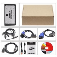 Code Readers & Scan Tools S++Quality INLINE 6 Data Link Adapter Heavy Duty Scanners Full 8 Cable Truck Profession Diagnostic In CAN Flasher