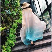 Scarves Fashion 2021 Brand Silk Scarf Women Pashmina Shawls And Wraps Bandana Hair Muslim Hijab Mousselin Foulard Femme