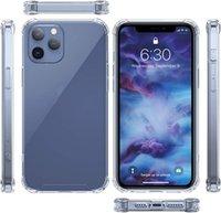 حالات الهاتف شفافة لآيفون 13 12 برو ماكس ميني 11 XR XS X 10 8 7 Samsung S20 الفريدة 3d حالة إزالة الضغط