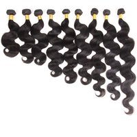 Large Stock Top Grade Raw Unprocessed Body Wave Cuticle Aligned Hair From Indian Natural Color 1B