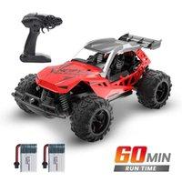 Deerc 1:22 Racing RC Rock Rock Crawler Control Truck 60 minutos Tempo de jogar 20 km / h 2.4 Ghz Drift Buggy Toy para Kids H1013
