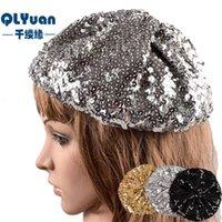 الخريف المألوف والشتاء المرأة محبوك الترتر قبعة قبعة