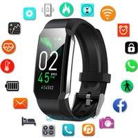 Temperature Smart Band Men Women Smart Bracelet Sport Bluetooth-compatible Waterproof Wristwatch for Android IOS Wrist Watches
