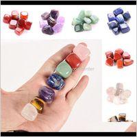 Arts, Gifts & Garden Drop Delivery 2021 Natural Crystal Arts And Crafts Chakra Stone 7Pcs Set Stones Palm Reiki Healing Crystals Gemstones Ho