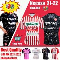 2021 2022 Club Necaxa Futbol Formaları 20/21/22 Ev Uzakta Tayland Kalite Liga MX Kit Jersey Futbol Tayland Üniforma Gömlek