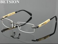 Pure titanium gunmetal im miopia miopia nearsight distância óculos de madeira minus quadros de óculos prontos -1.0 -1.25 -1,5 -1.75 moda sol