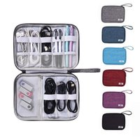 Storage Bags Digital Bag USB Data Cable Organizer Earphone Wire Pen Power Bank Travel Kit Case Pouch Electronics Accessories