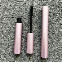 Maquillaje de ojos mascara sexo pestañas extensión curling larga duración impermeable pestañas pincel rosa tubo de aluminio 8ml mas volumen masscara negro color negro