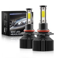 Car LED Headlight Bulbs 9005 H11 672000LM Combo 4-Side Kits High Low Beam Bulb 6000K White Auto Accessories Headlights