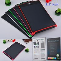 8.5 inch LCD Writing Tablet Drawing Board Blackboard Handwriting Pads Paperless Notepad Tablets Memo With Pen with Retail box