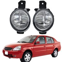 1 parimiento para Nissan Platina 2002-2010 Accesorios para automóviles H11 Bombilla LED derecha + Izquierda Niebla Luz DRL Durante Día Luz de Día 12V