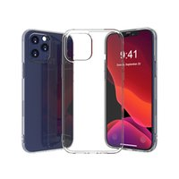2.0mm 클리어 TPU 아이폰 5 6 7 XR XS 11 Pro Max 12 Mini SE2 SAM S20 S21 Fe Note 20 Ultra onePlus Nord CE N10 5G Xiaomi Mi11 Redmi 10x 4G 투명 뒷면 커버