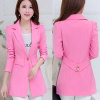 Women's Jackets Fashion Tops Slim Small Suit Coat Women 2021 High-end High Quality Slimming Plus Size Mid-Length Professional Jacket