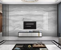 Grey Marble Wall Mural Po Wallpaper Dark Contact Paper For El 3d Murals Papers Luxury Home Decor Custom Wallpapers