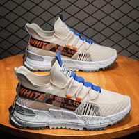 Spor ayakkabı Erkek 2021 Yaz Mesh Trendy Öğrenci Nefes Koşu Ultra Hafif Şok-Emici Yumuşak Alt Uçan Dokuma SH