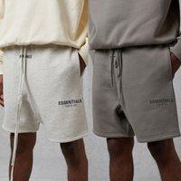 Nebel Essentials Shorts Angst vor Gott Reflektierende Logo Sweat Shorts Herren Casual Sweatshorts Jogger Harem Shorts Männer Frauen Hip Hop Streetwear MG210028