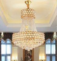 Luxury K9 Crystal Chandelier Lighting D50cm Chrome Living Room Light Fixtures avize Lustre 90~240V Lamp