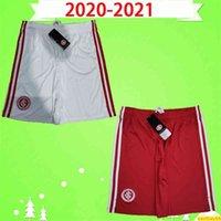 2020 2021 SC Internacional Soccer Shorts Internacional d'Alessandro Guerrero Praxedes Casa Red White 20 21 calças de futebol