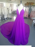 2021 Long Prom Dress Chiffon Aline Homecoming Party Dress with Long Train and sexy Split Custom Made Dress