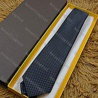 9 Estilo Carta de hombre Corbata Corbata de seda Big Check Check Little Jacquard Fiesta Wedding Woven Diseño de moda Hombres Casuales Lazos
