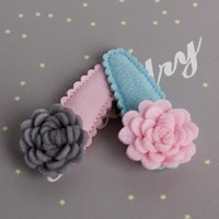 Hair Accessories Children Floral Clip Baby Headdress Side Clamp Born Cute Hairpin Clips For Acessorio De Cabelo T