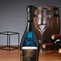 أدوات بار مطبخ مصغرة مختومة النبيذ سدادة مانعة للتسرب فقاعة شامبانيا كورك تدوير إبقاء زجاجة النبيذ الطازج