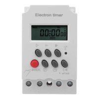 Smart Home Control Electronic Timer Interruptor Microcomputador Inteligente Grande Corrente KG316T-III 220VAC 30A ferramenta