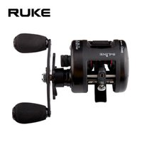 Baitcasting Reels RUKE Cast Drum Wheel ,9+1 Bearing ,Gear Ratio 5.1:1 ,Max Drag 6 Kg, Magnetic Brake System Sea Fishing