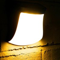 Солнечные лампы Прочная пылезащищенная лампочка Стена дома открытый 2V 160 мА тропа 3-светодиодный практичный газон мода лампы украшения сад света