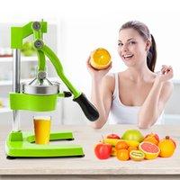 WACO Manuel professionnel Citrus Juicer, presse à main Orange citron citron Squeezer presse-stand, extracteur de jus d'acier inoxydable robuste, vert