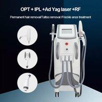 4 в 1 Magneto IPL E-Light Opt SHR RF ND YAG лазерная татуировка удаления кожи Омоложение машины радиочастот 755NM пикосекунда IPL лазерное удаление волос оборудование