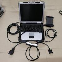 Strumenti diagnostici MB STAR SD C6 VCI DOIP con software 2021.06V SSD installato in CF-30 Laptop 4G Touch Screen Set completo per il lavoro