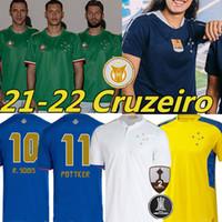 21/22 Cruzeiro Esporte Clube Soccer Jerseys 30 Anos Donne 100th Anniversary Men Bambini 2021 2022 W.Pottker Henrique Dede M.moreno Jersey di calcio Camisa de RapiSas