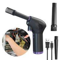 Aire Dustner Car Handheld Auto Vacuum Dual Uso de doble ventosa Limpie la limpieza portátil Limpiador de vacío inalámbrico