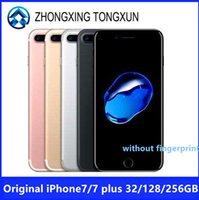 Original Apple iPhone 7 7 Plus Quad-Core Mobile phone 12.0MP Camera IOS LTE 4G Fingerprint Used Smartphone