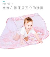Baby Crib Netting Portable Foldable Baby Bed Mosquito Net Polyester Newborn Sleep Bed Travel Bed Netting Play Tent Children H1019