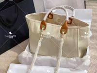 High End Design Einkaufstaschen Reine Einzigartige Perle Große Kapazität Eine Schulter abfallende Tragbare Leinwand Beachtasche Eine Vielzahl von Farbe 38 cm