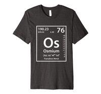 Osmiyum periyodik tablo unsur t-shirt