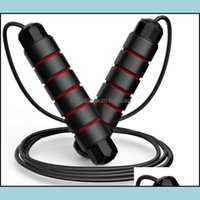 Jump Equipments Fitness Supplies Sports & Outdoorsjump Ropes Weighted Speed Skip Rope Bearing Skip Adjustable Stainless Steel Wire Drop Deli