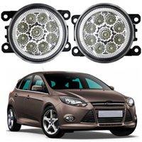 2 pcs carro led luzes luzes de nevoeiro para Ford Focus 2004 ~ 2010 MK2 2004-2010 12V