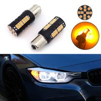 2pcs Turn Signal Light Accessories Amber LED Bulbs Parts Stable Performance Emergency Lights