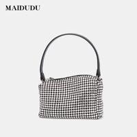 Dener Tasarımcı Lüks Vofok 2021 NAS Çanta Ünlü Küçük Marka Çanta Çantalar Bayanlar Omuz Deri Fermuar Çanta Stil ESAMF
